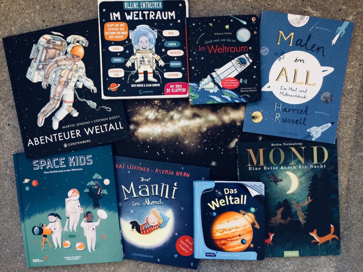 """Kinderbuch-Tipps – 8 Bücher zum Thema """"Weltall"""""""