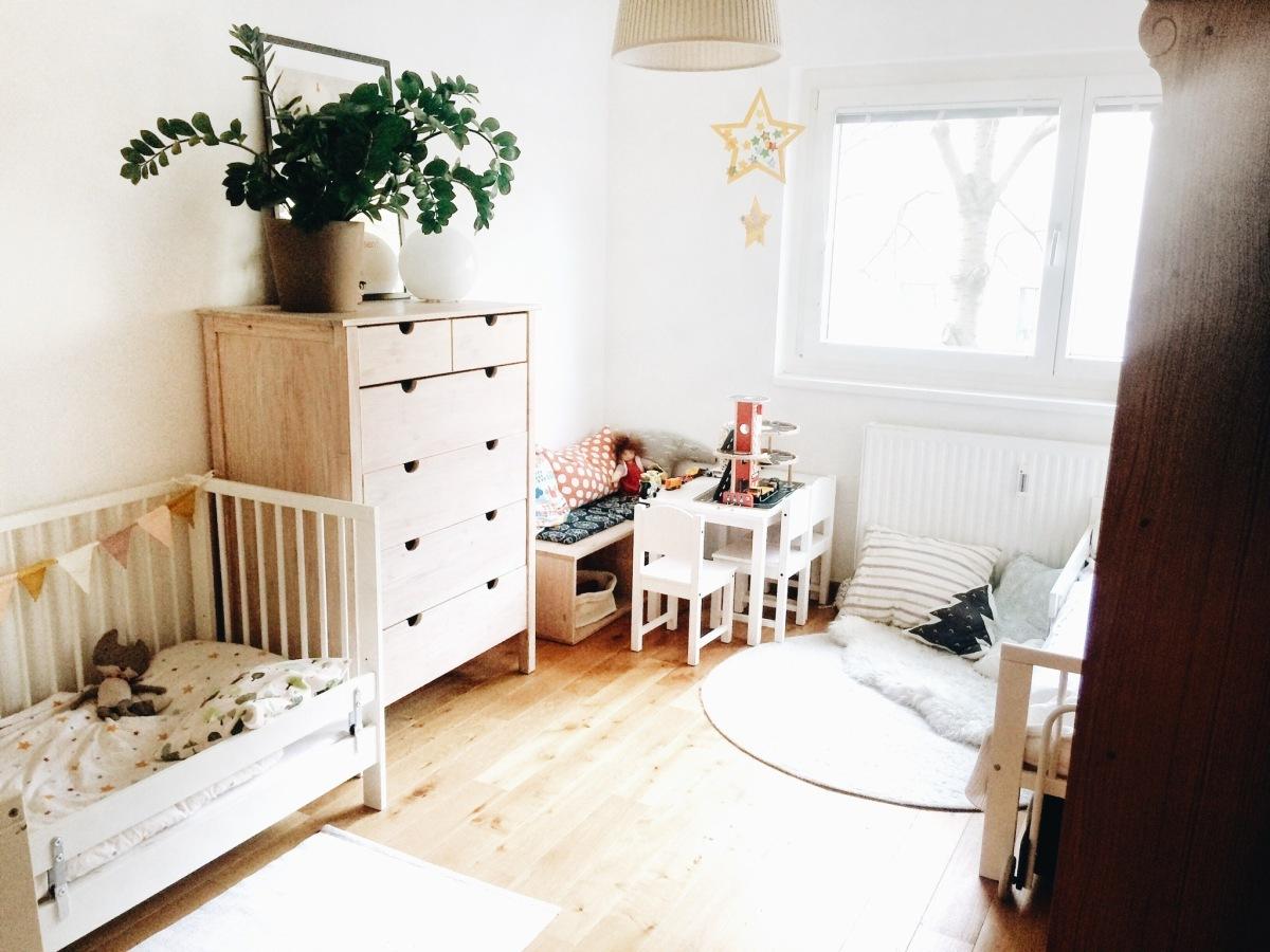 1 Kinderzimmer für 3