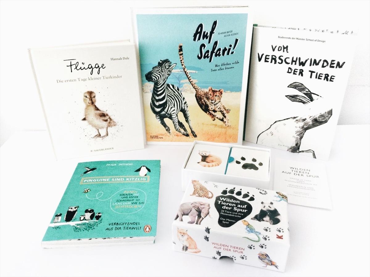 Kinderbuch-Tipps - Faszinierendes, Kurioses und Trauriges aus der Tierwelt