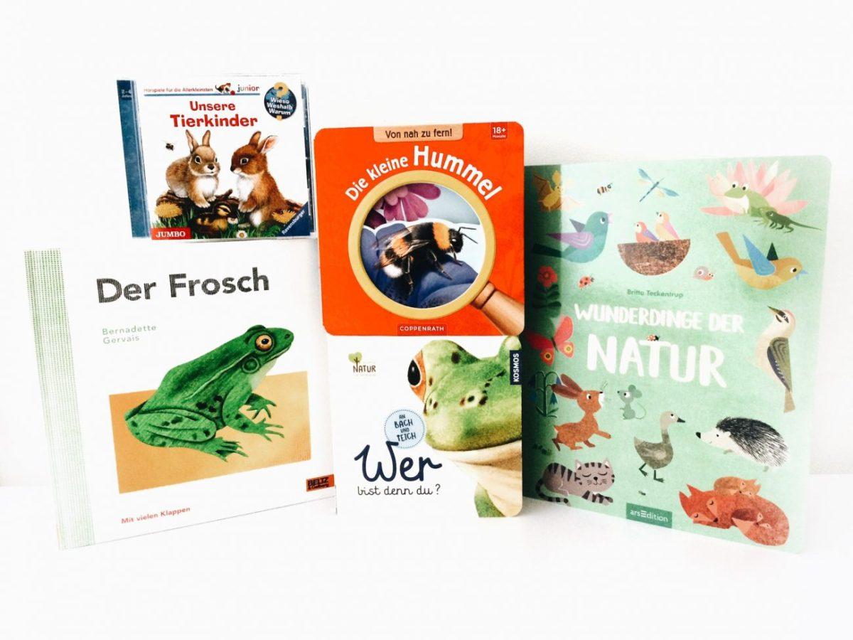 Kinderbuch-Tipps – Mit Büchern und Spielen in den Frühling