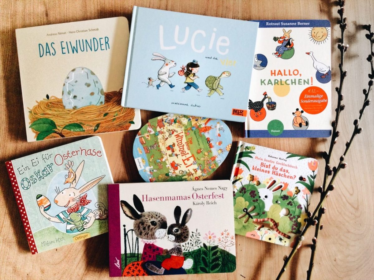 Kinderbuch-Tipps fürs Osternest #1 – Bilderbücher für die Allerkleinsten