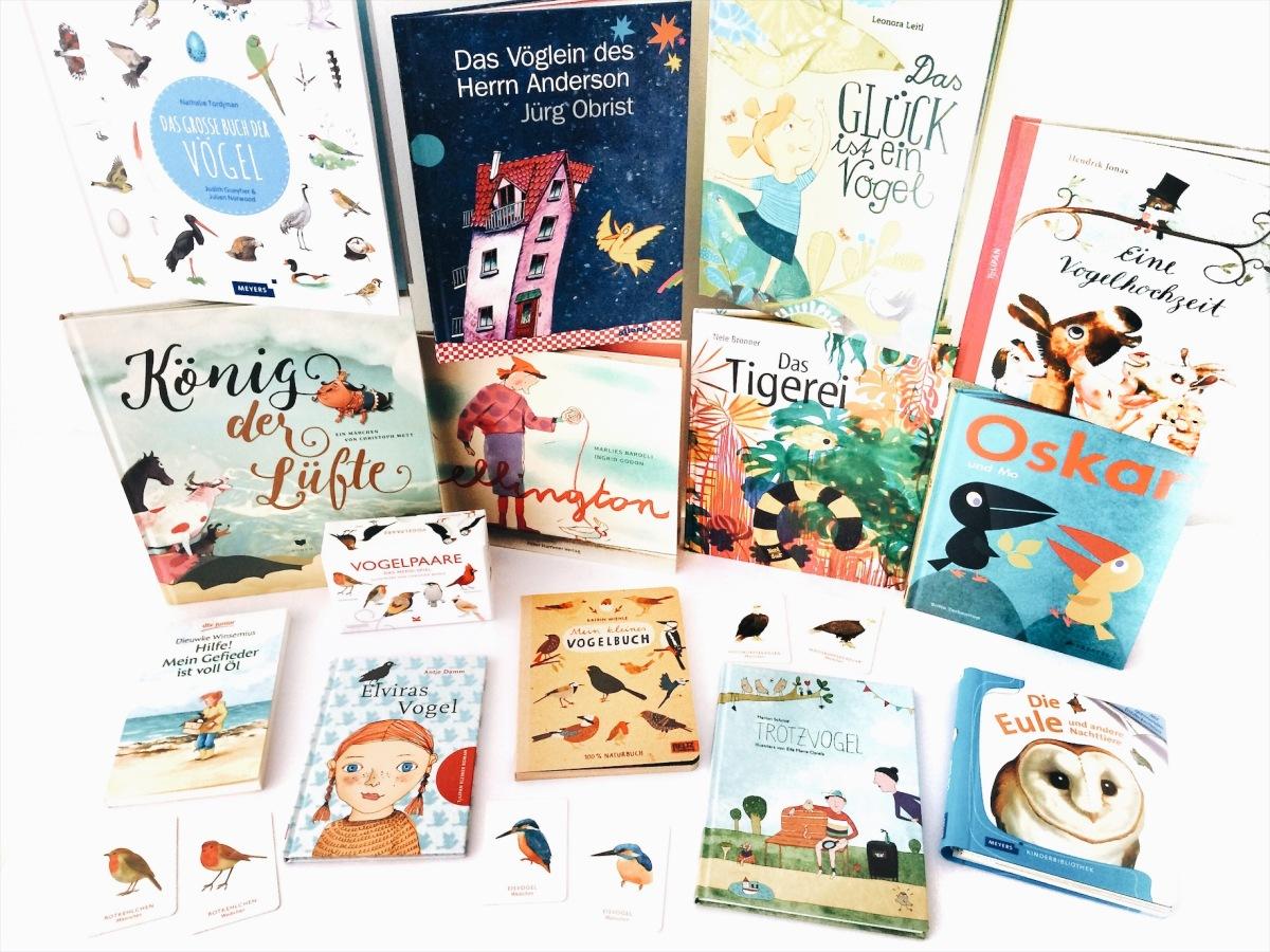 Kinderbuch-Tipps – Die besten Bücher über Vögel