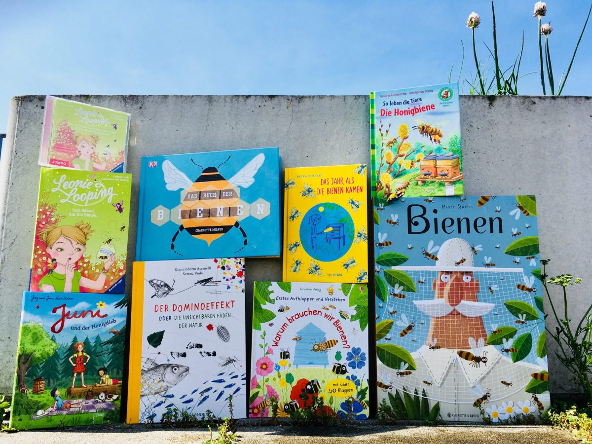 Kinderbücher: Wozu brauchen wir die Bienen in der Natur?
